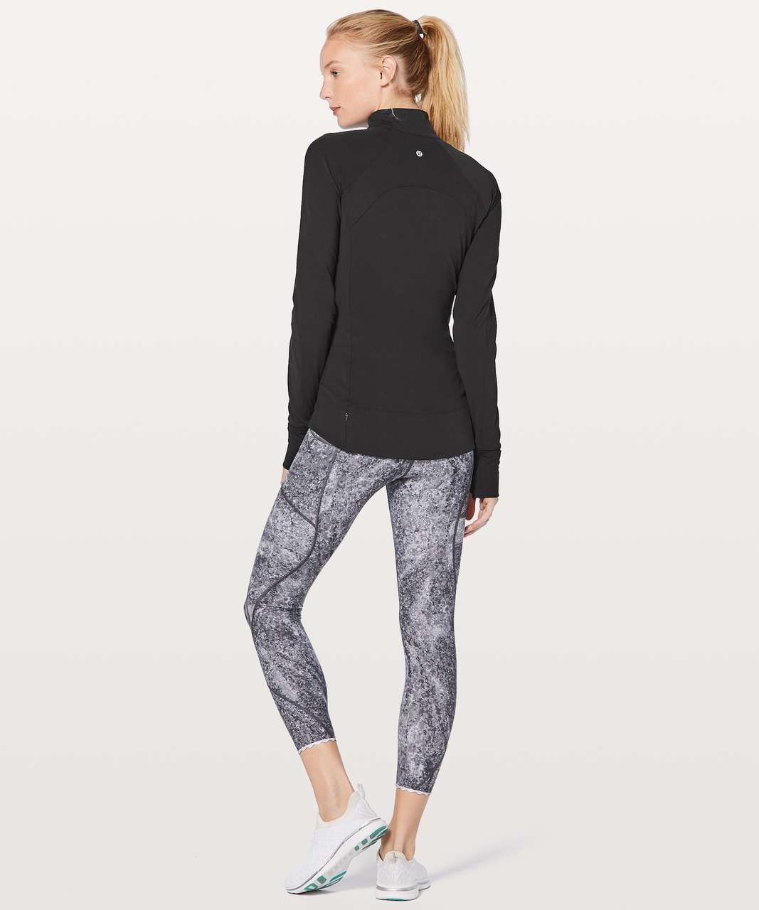 Lululemon Fast As Light 1/2 Zip - Black