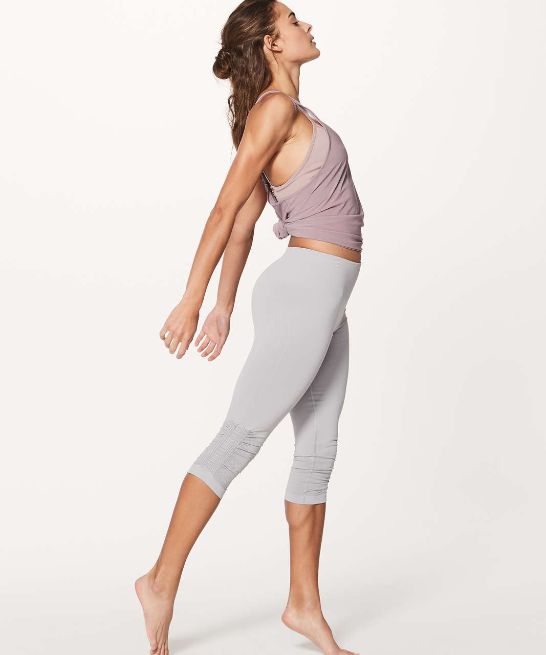 Lululemon Awakening Tank Taryn Toomey Collection - Misty Mauve