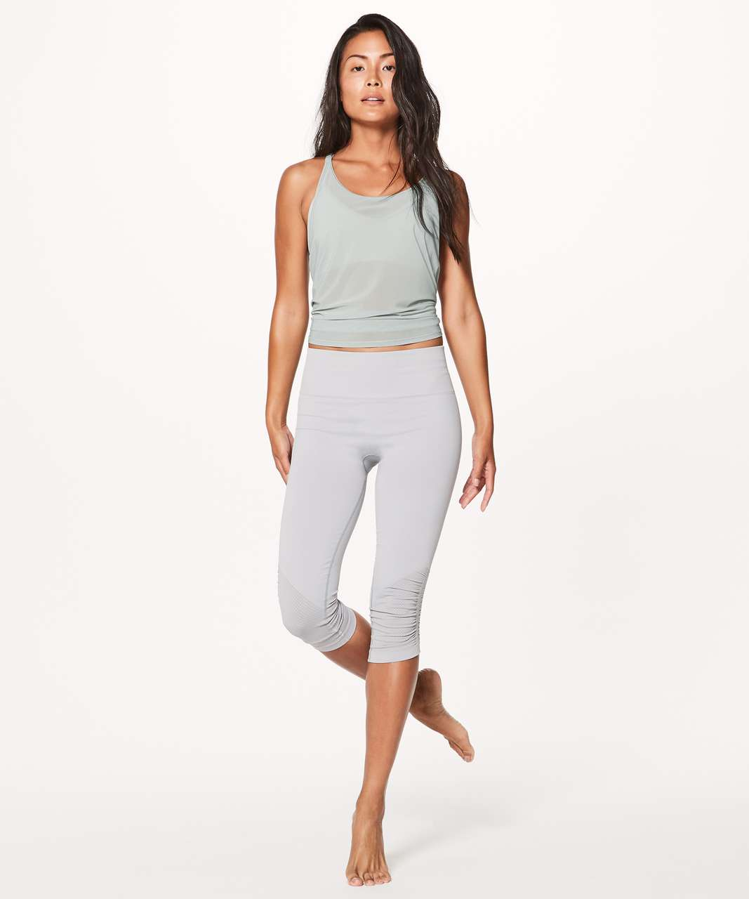 Lululemon Awakening Tank Taryn Toomey Collection - Misty Moss