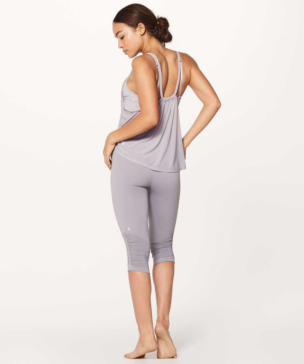 Lululemon Awakening Tank Taryn Toomey Collection - Faint Mauve