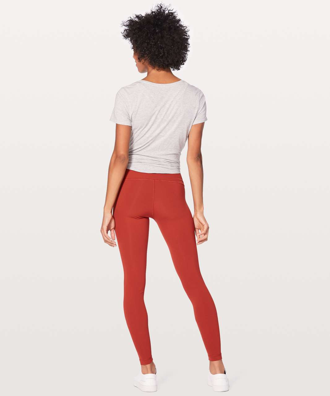 "Lululemon Wunder Under Hi-Rise Tight 28"" - Bonfire"