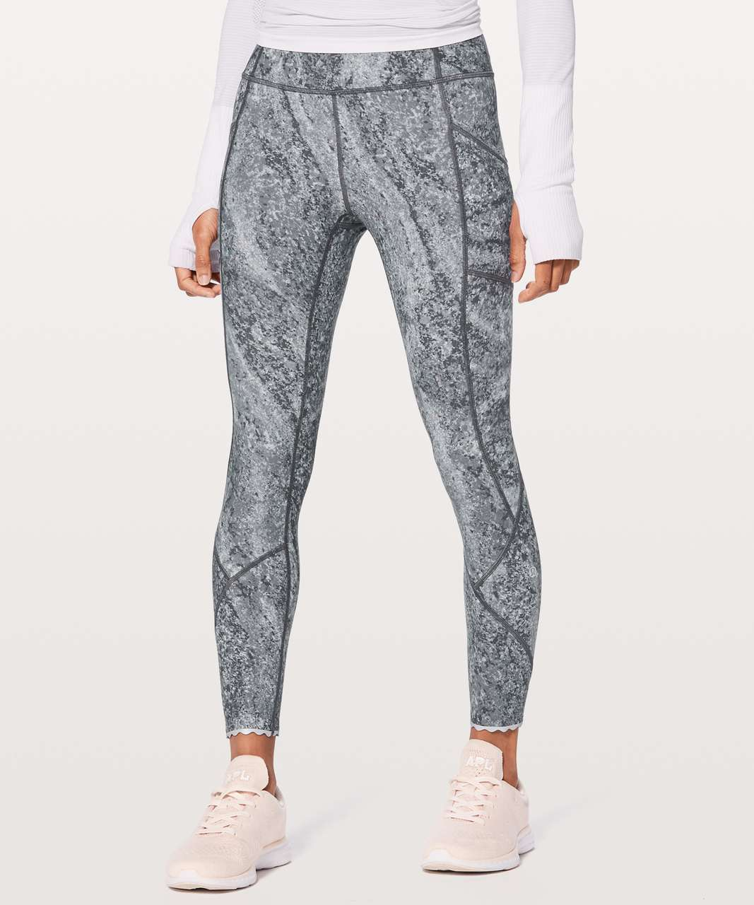 Lululemon Tight Stuff Tight II - Area Ice Grey