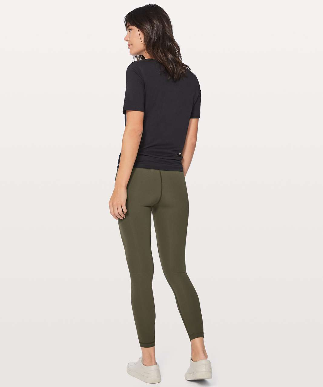 "Lululemon Wunder Under Hi-Rise 7/8 Tight *Full-On Luxtreme 25"" - Dark Olive"