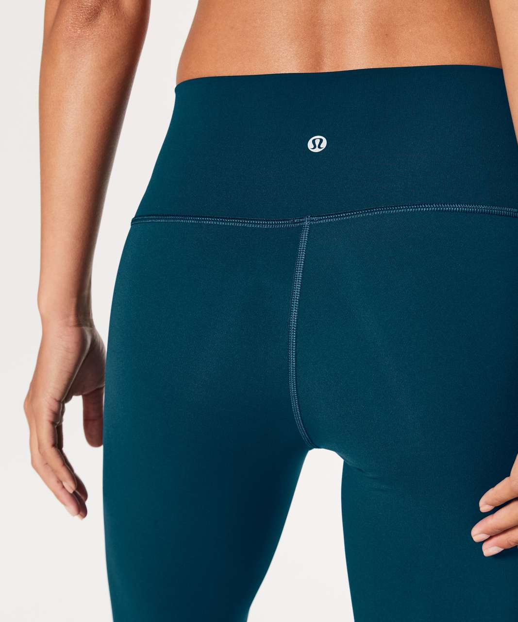 "Lululemon Wunder Under Hi-Rise 7/8 Tight 25"" - Nile Blue"