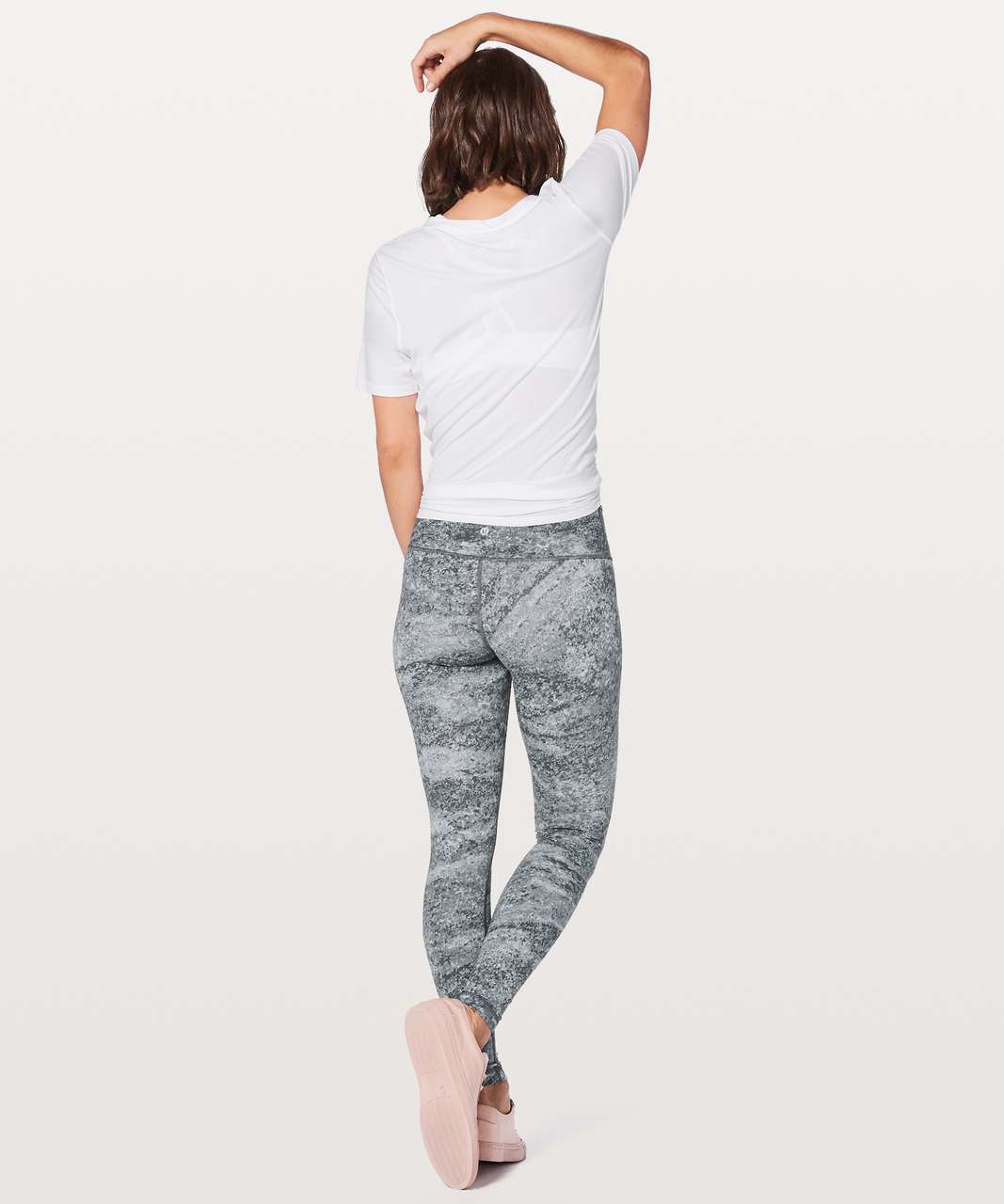 "Lululemon Wunder Under Low-Rise Tight *Full-On Luxtreme 28"" - Area Ice Grey"