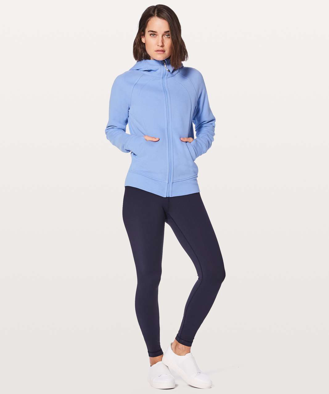 Lululemon Scuba Hoodie *Light Cotton Fleece - Hydrangea Blue