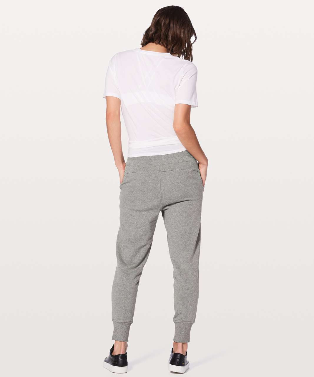"Lululemon Press Pause Jogger II 25.5"" - Heathered Core Medium Grey"