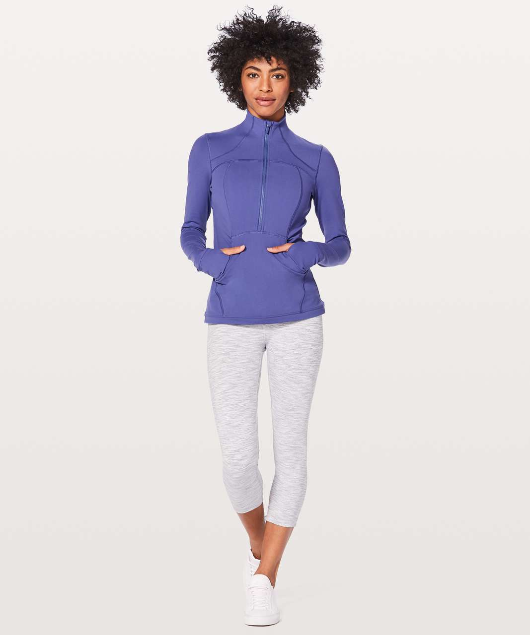Lululemon Define Pullover - Stony Grape