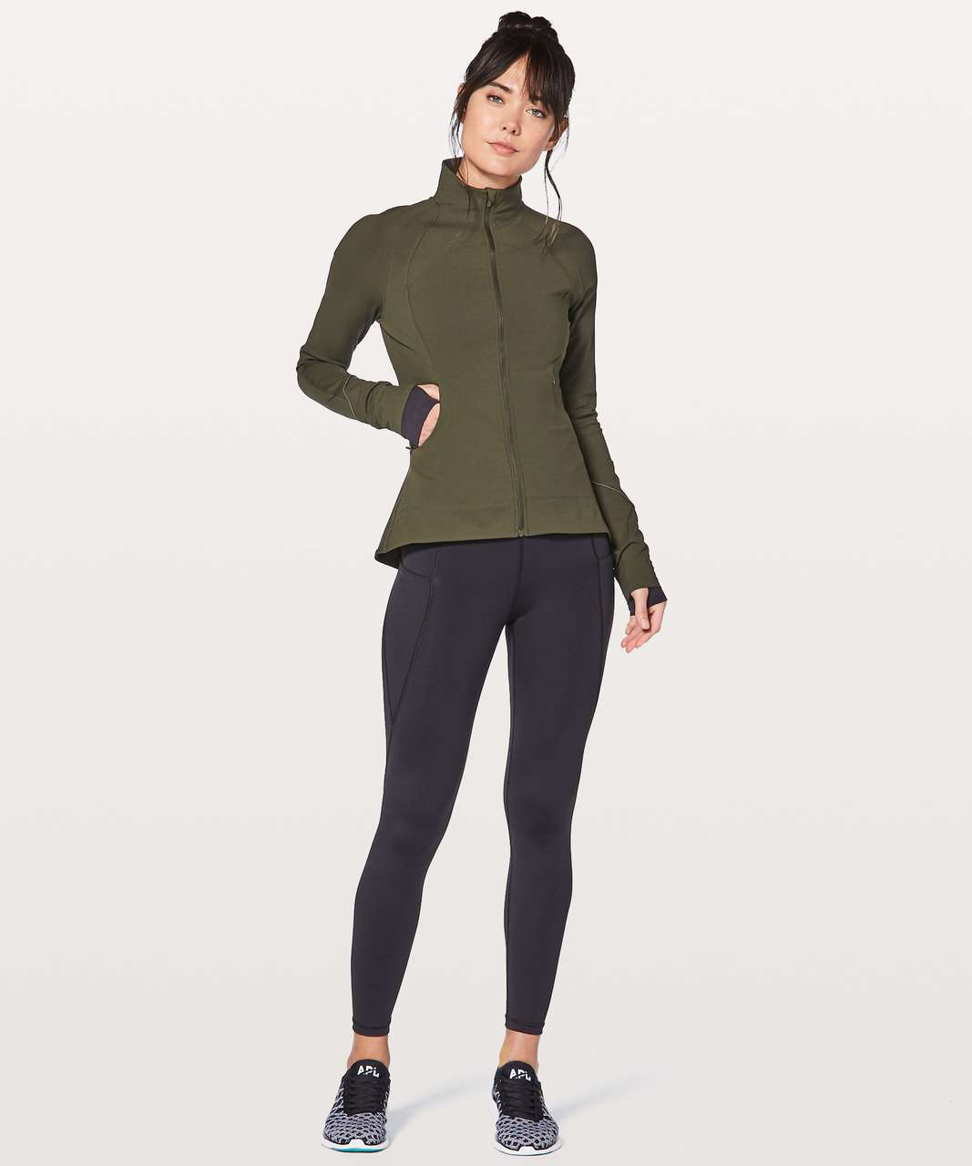 Lululemon Gait Keeper Jacket - Dark Olive