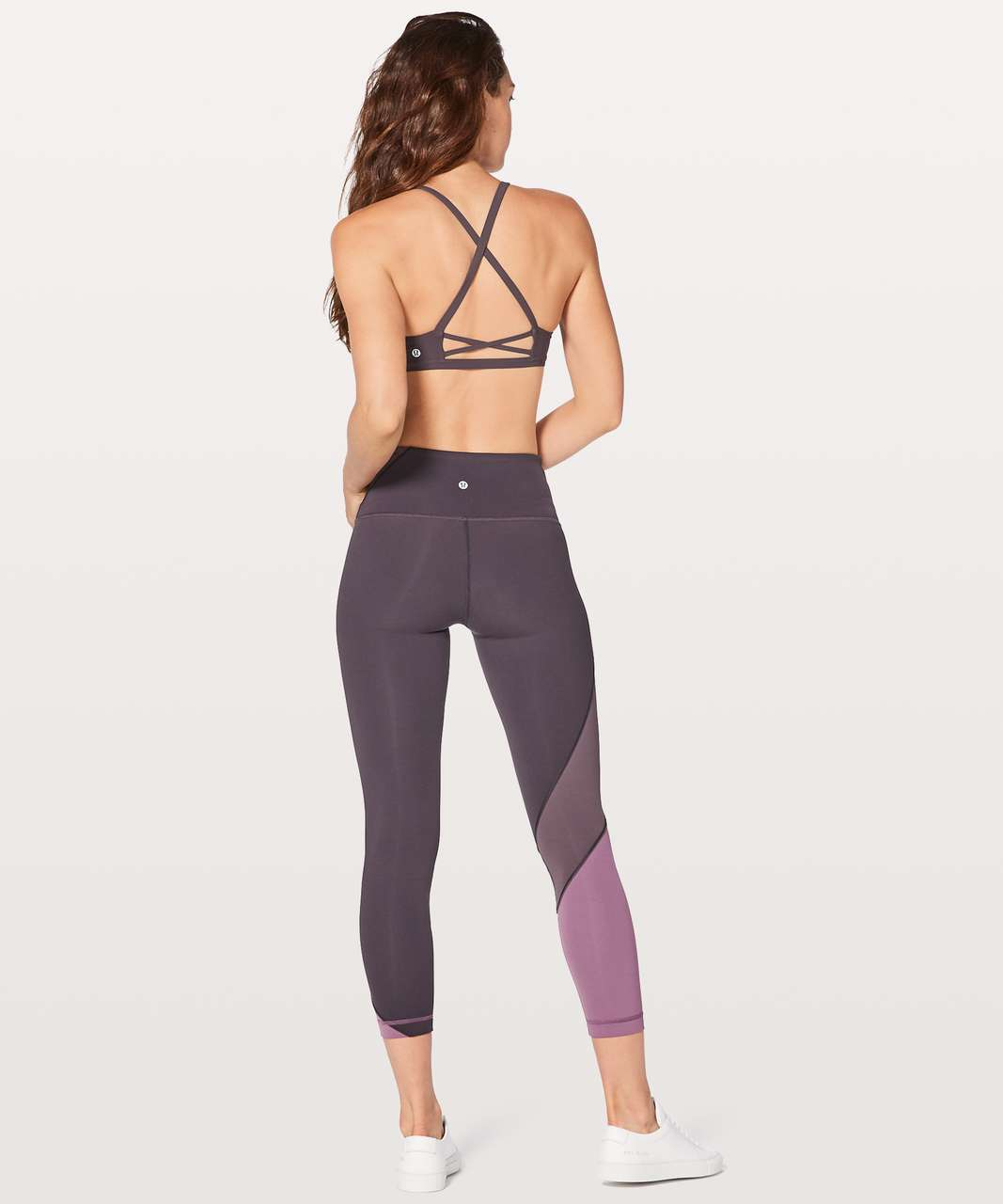 Lululemon Laced With Intent Bra - Black Currant