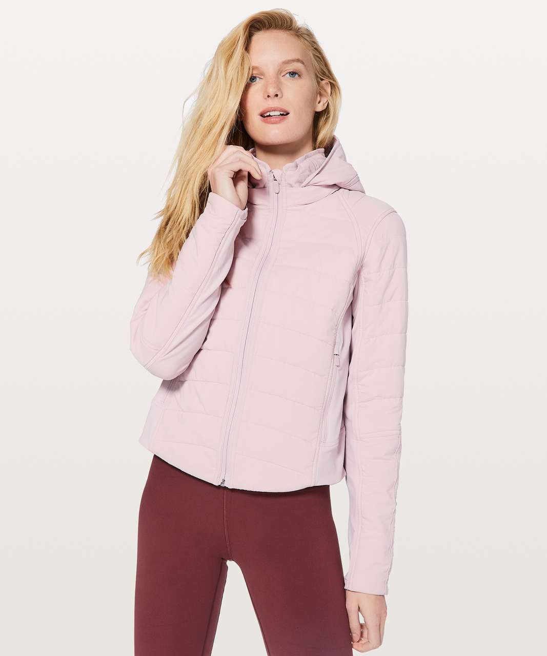 Lululemon Push Your Pace Jacket - Porcelain Pink