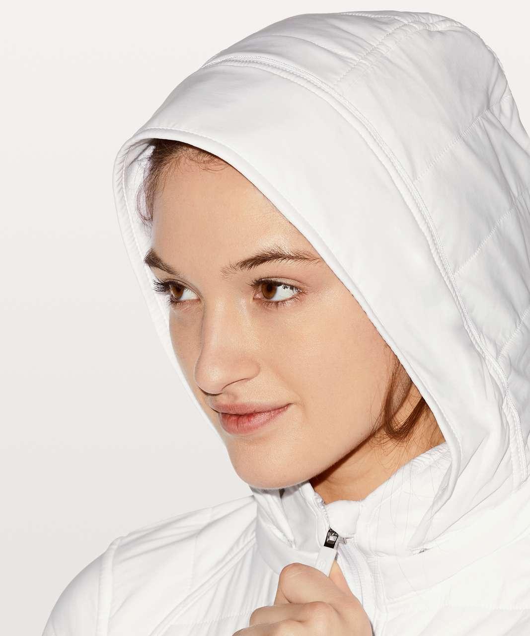 Lululemon Push Your Pace Jacket - White