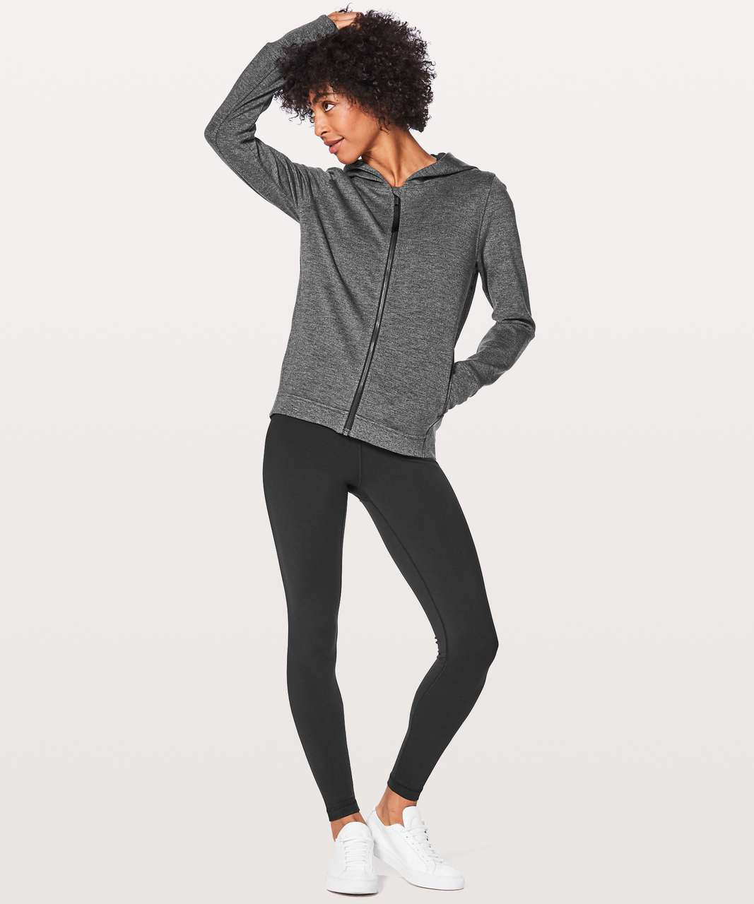 Lululemon City Trek Jacket - Heathered Black