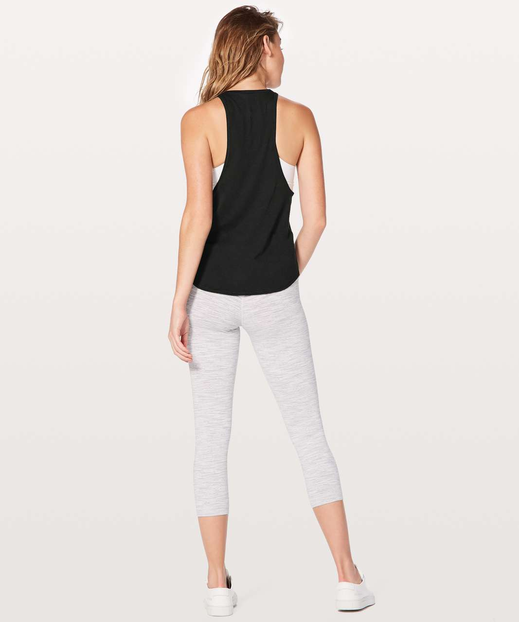 Lululemon Sweat Date Singlet Expression - Black