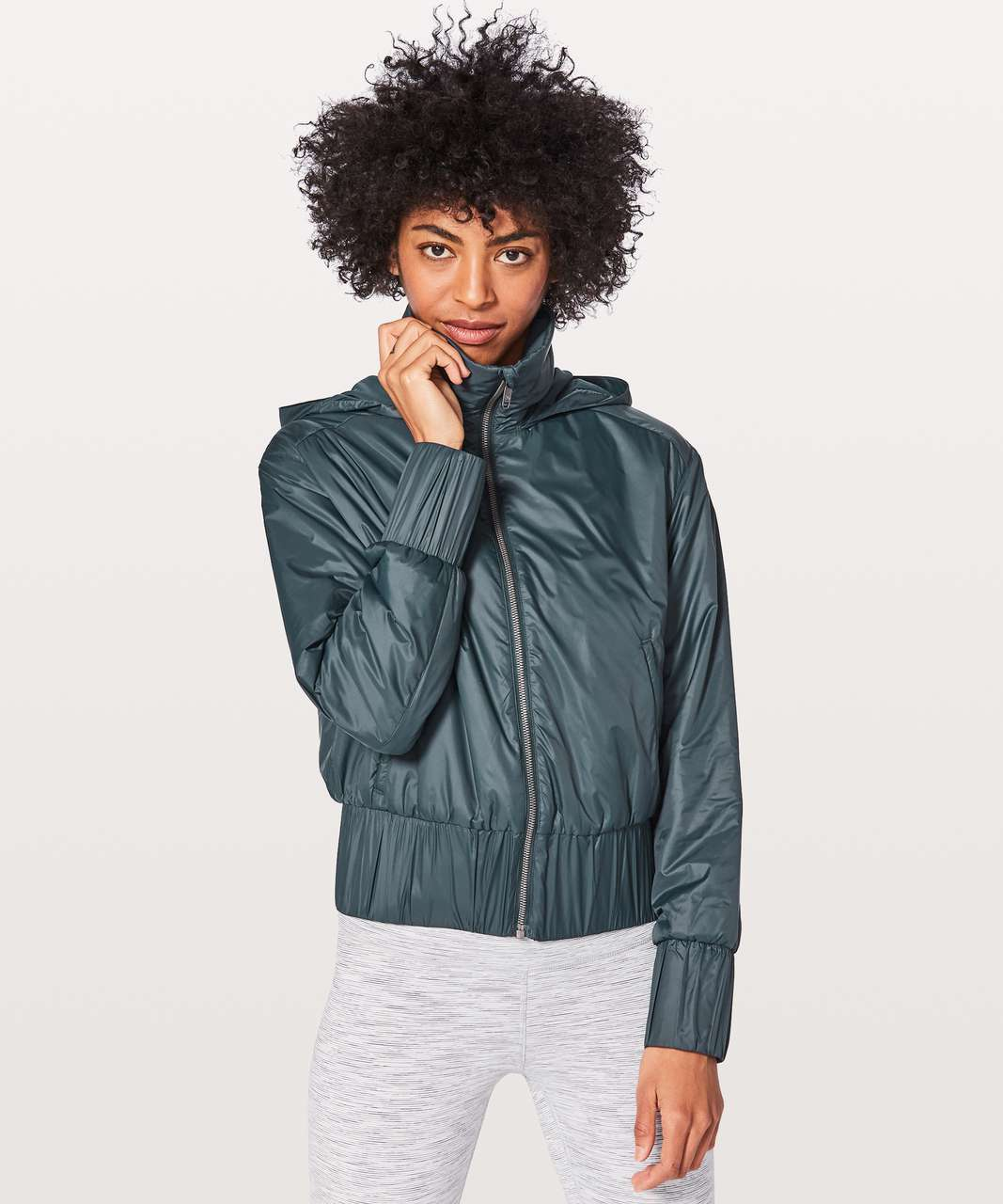 Lululemon Gather & Go Jacket - Nocturnal Teal