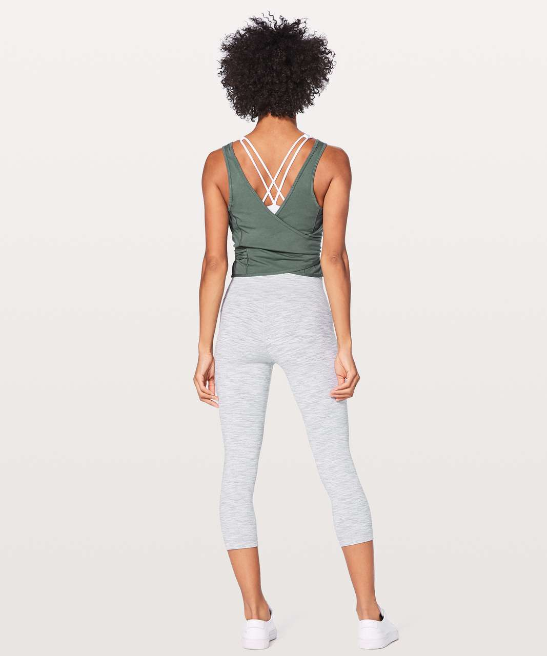 Lululemon Its A Tie Tank - Graphite Green