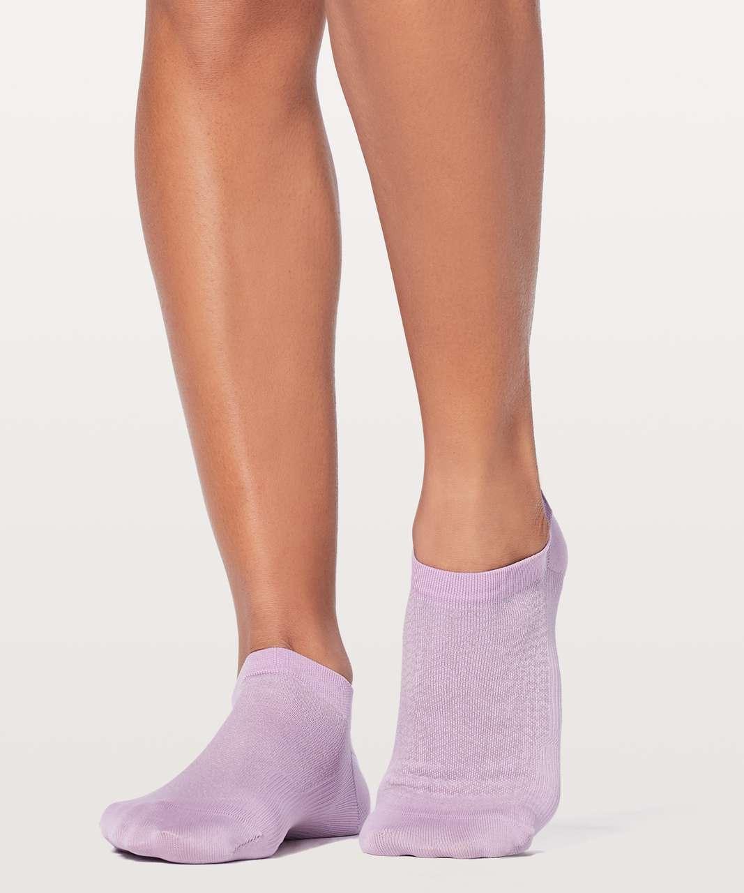 Lululemon Light Speed Sock Silver - Lilac Quartz / Rose Quartz