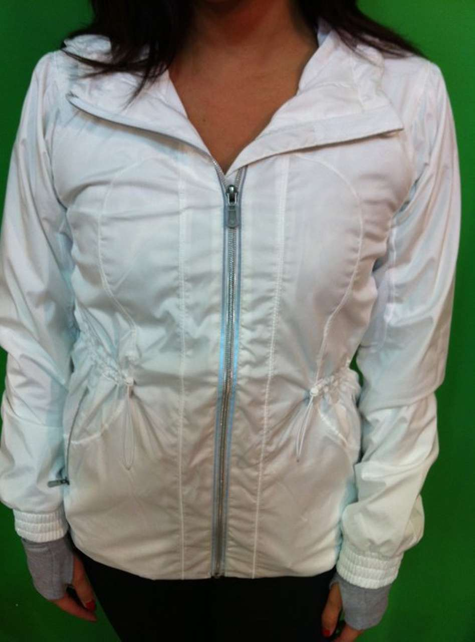 Lululemon Resolution Jacket - White