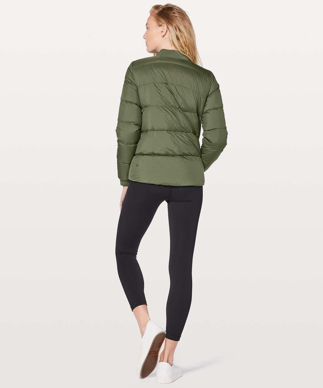 Lululemon Weightless Wunder Jacket - Pesto