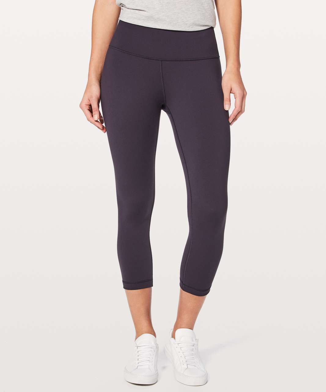 "Lululemon Wunder Under Crop (Hi-Rise) *Full-On Luon 21"" - Boysenberry"