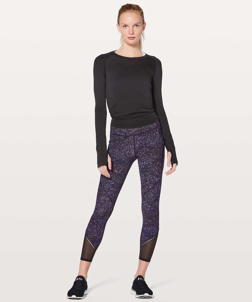 "Lululemon Gait Keeper 7/8 Tight 25"" - Crystalline Multi"