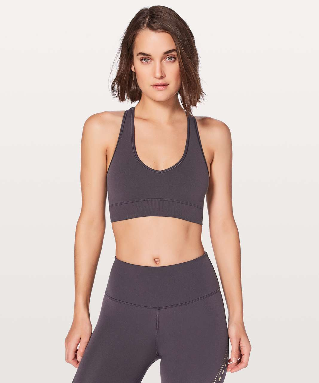 Lululemon Reveal Bra Precision - Boysenberry