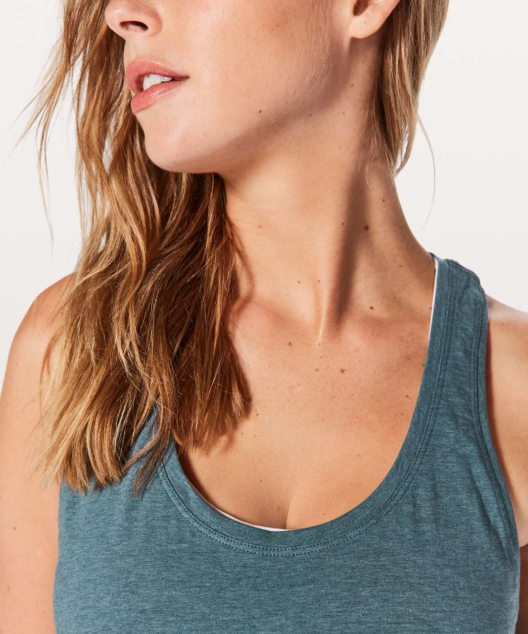 Lululemon Love Tank II - Heathered Shipmate
