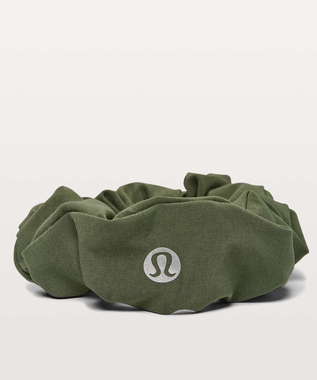 Lululemon Uplifting Scrunchie - Barracks Green