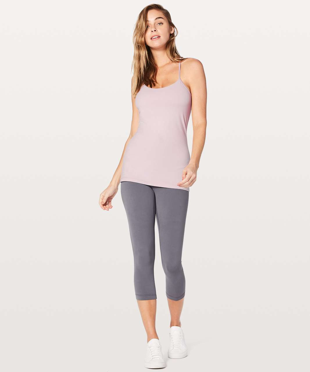 Lululemon Power Pose Tank *Light Support For A/B Cup - Porcelain Pink