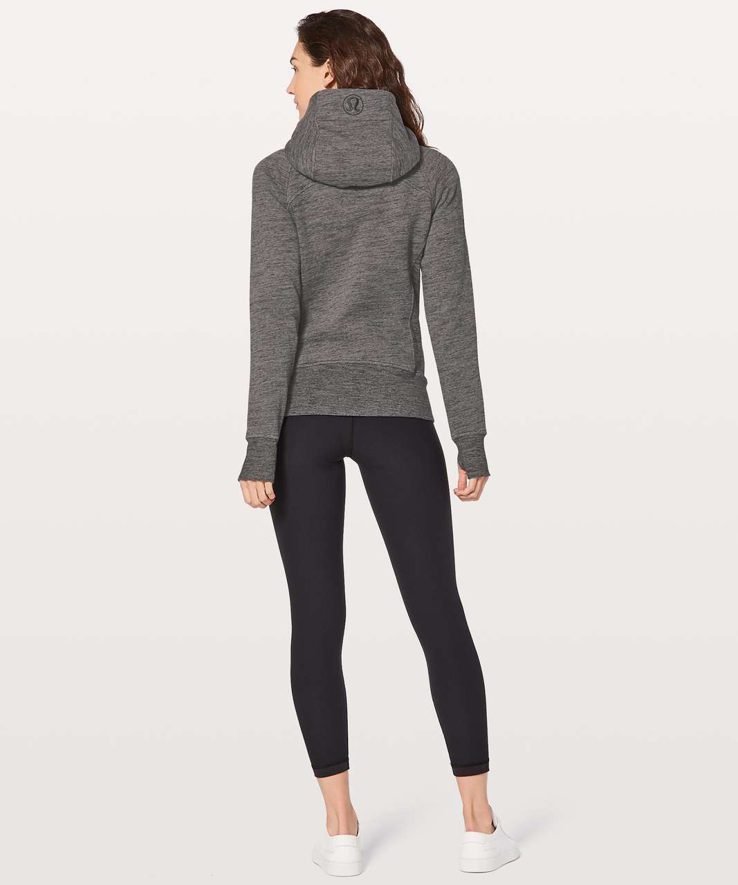 Lululemon Scuba Hoodie *Light Cotton Fleece - Heathered Core Dark Grey