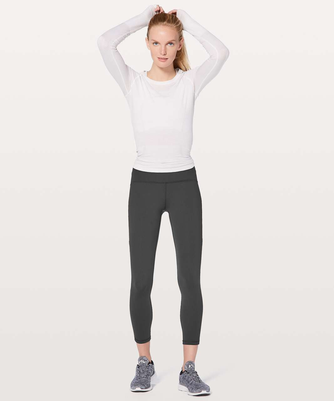 "Lululemon Train Times 7/8 Pant *25"" - Deep Coal"