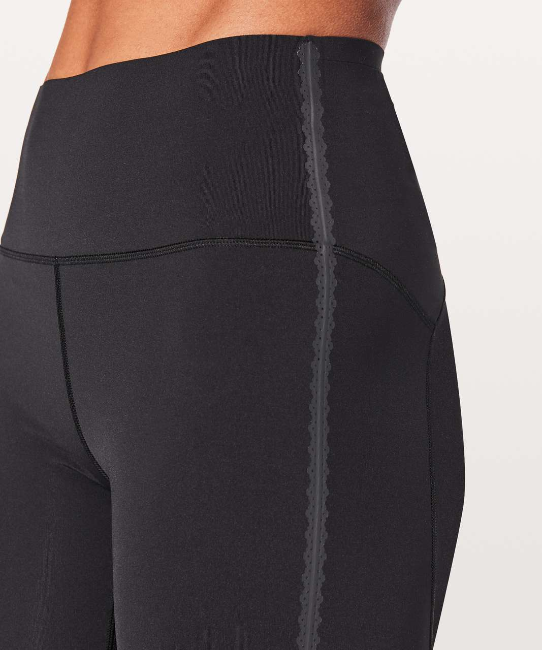 "Lululemon Stop Drop & Squat Tight 28"" - Black"