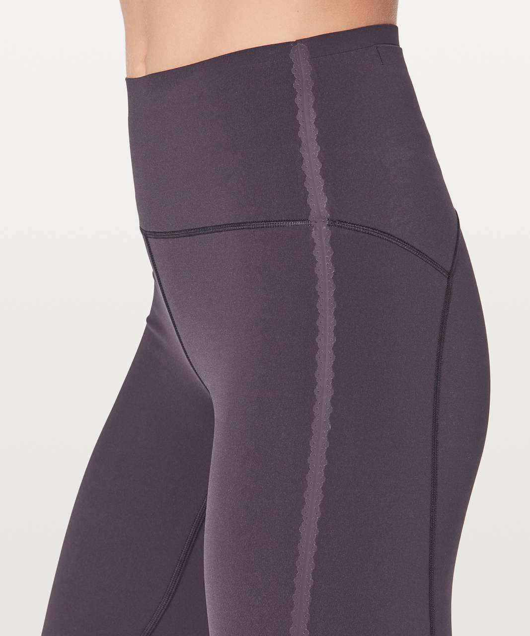 "Lululemon Stop Drop & Squat Tight 28"" - Boysenberry"