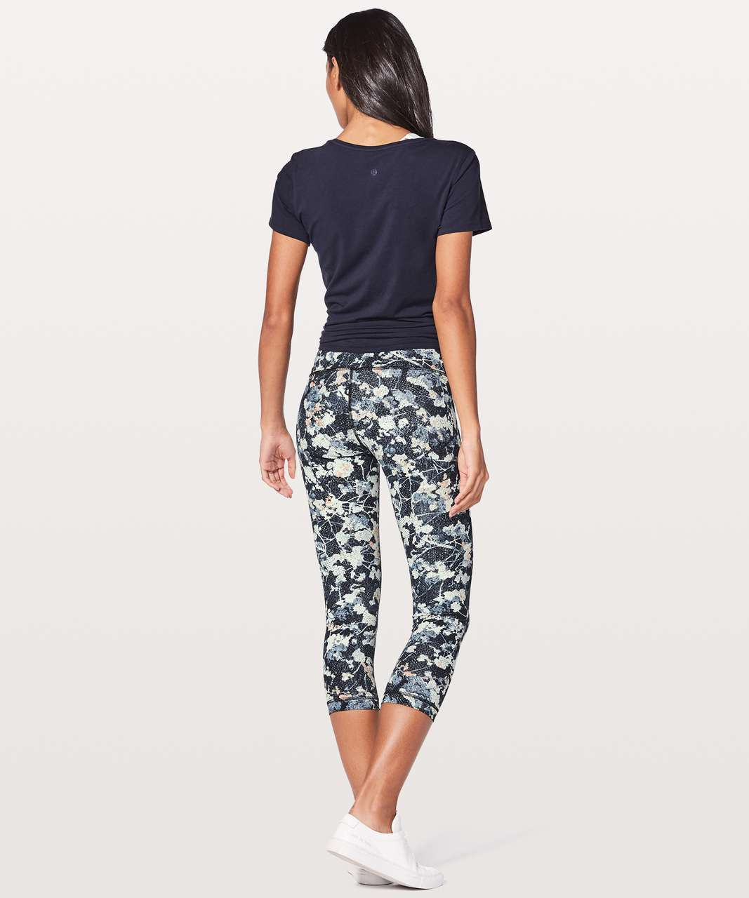 "Lululemon Wunder Under Crop (Hi-Rise) 21"" - Spring Bloom Multi"