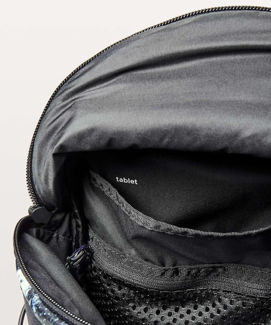 Lululemon Run All Day Backpack II *13L - Mini Spring Bloom Multi Black / Black