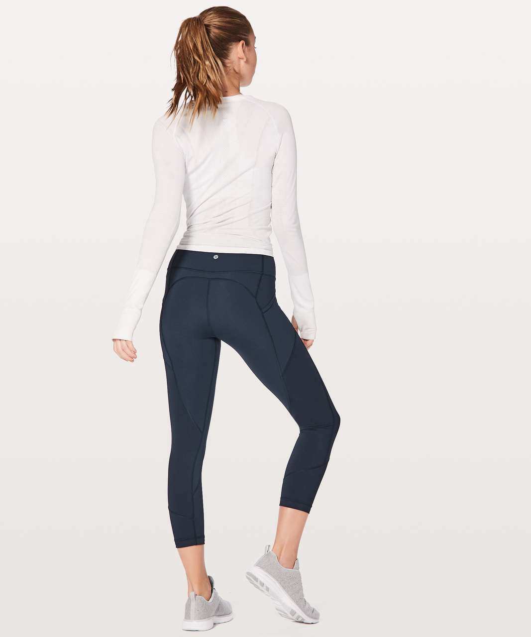 "Lululemon All The Right Places Crop II *23"" - True Navy"