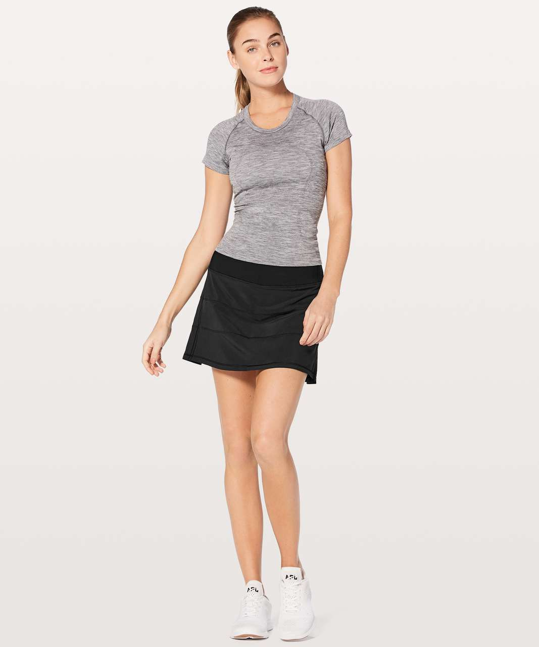 "Lululemon Pace Rival Skirt (Tall) *4-way Stretch 15"" - Black (First Release)"