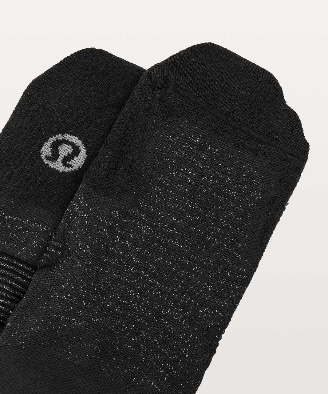Lululemon Speed Sock *Silver - Black (First Release)