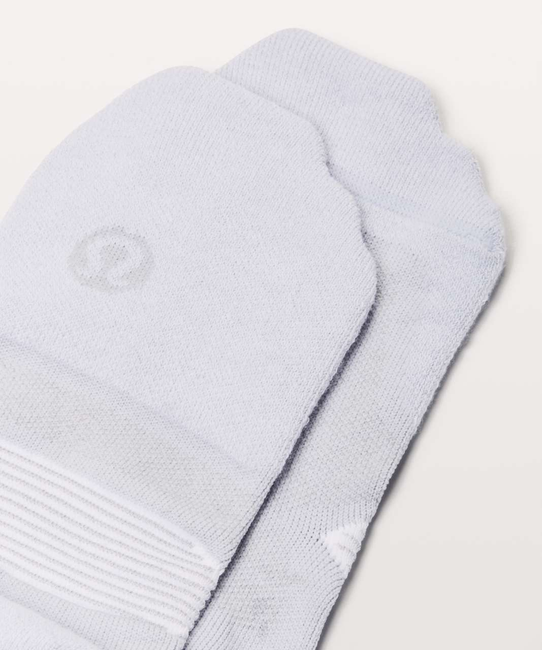 Lululemon Speed Sock *Silver - Serene Blue / White