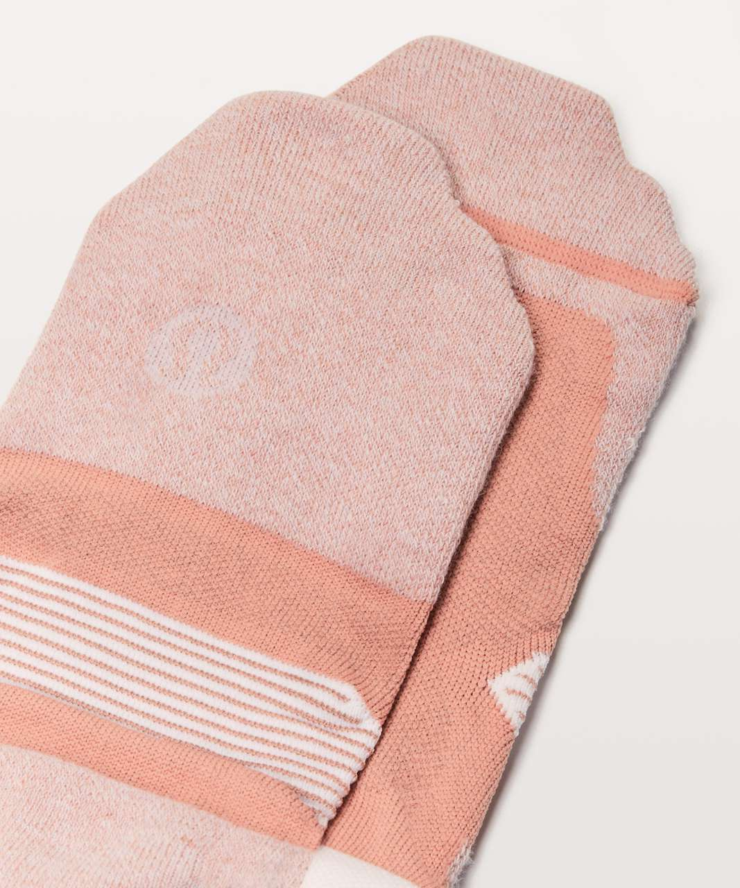 Lululemon Speed Sock *Silver - Cameo / White
