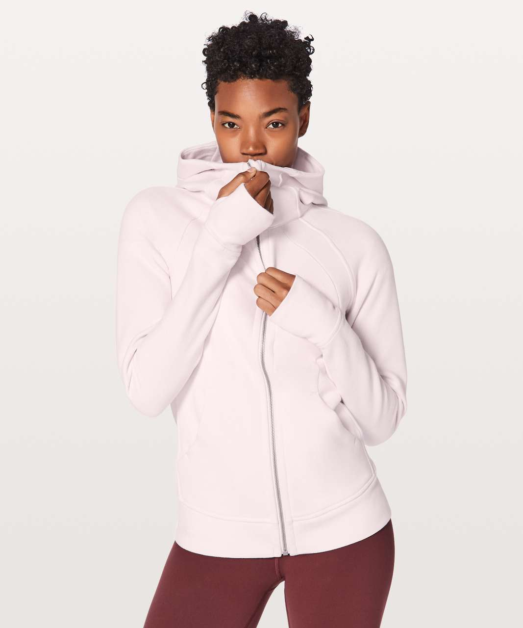 Lululemon Scuba Hoodie *Light Cotton Fleece - Flutterby Pink (First Release)