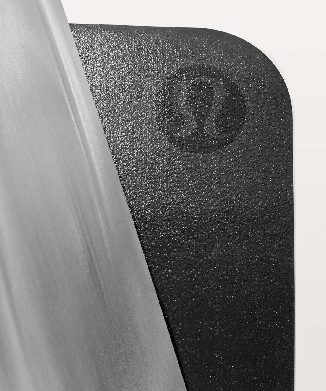 Lululemon The Reversible (Un) Mat Lightweight Travel - Black / White