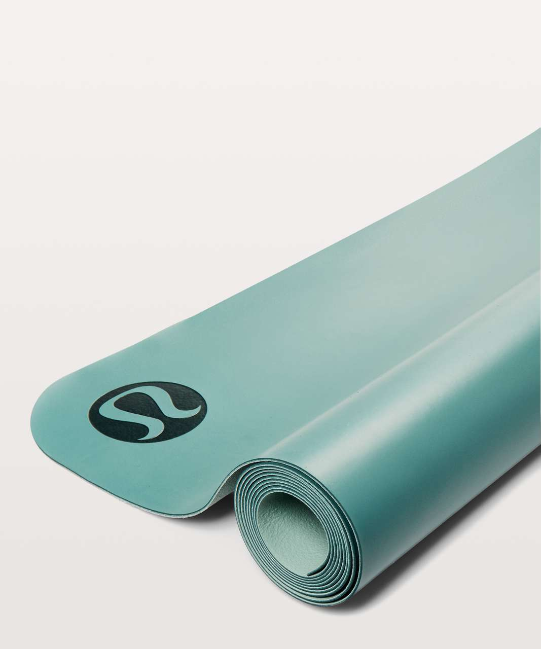 Lululemon The Reversible (Un) Mat *Lightweight Travel - Sea Green / Tonic Sea