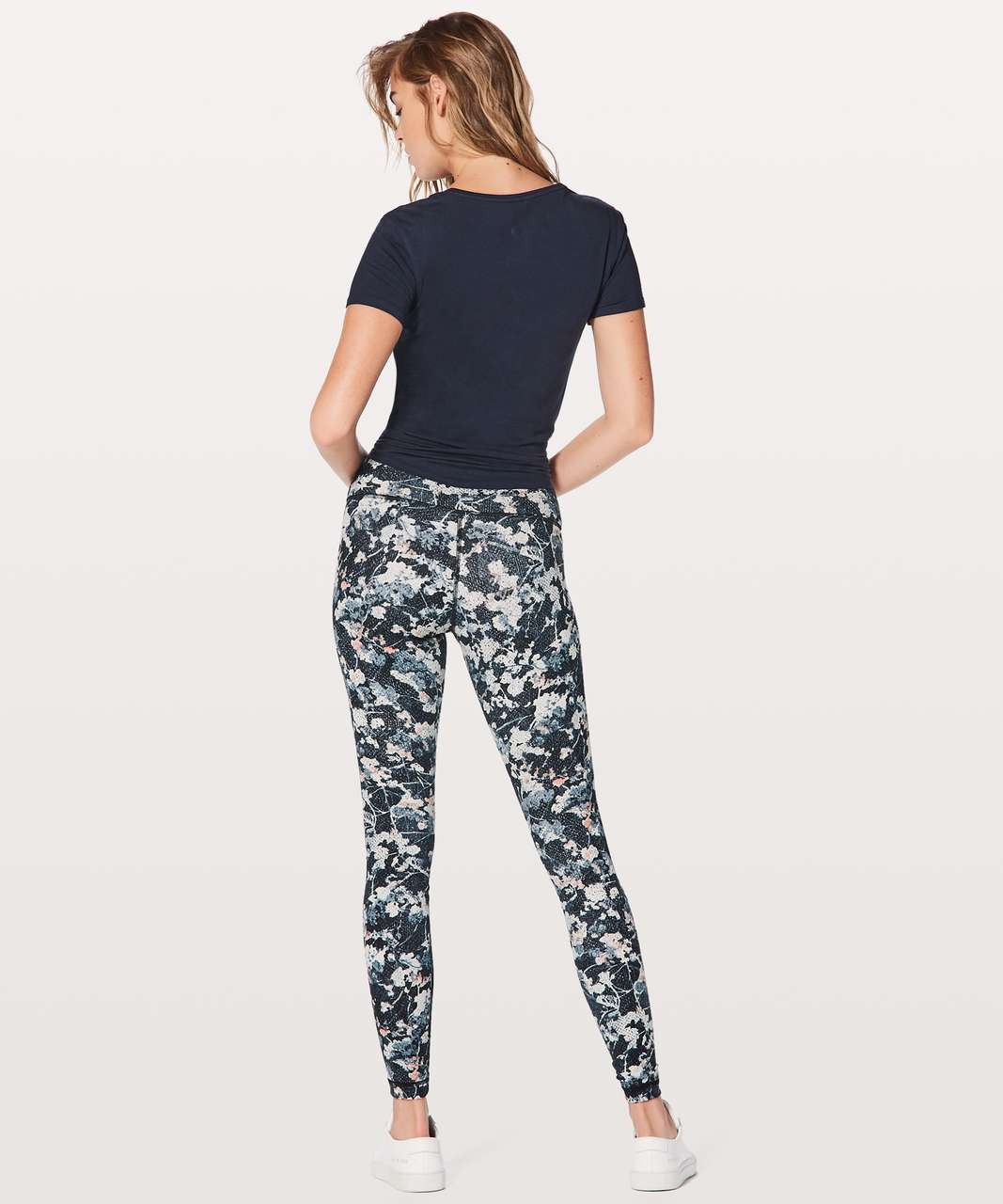 "Lululemon Wunder Under Hi-Rise Tight 28"" - Spring Bloom Multi"