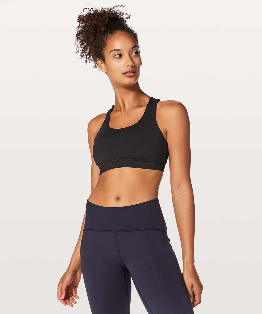 Lululemon Energy Bra Braided - Black