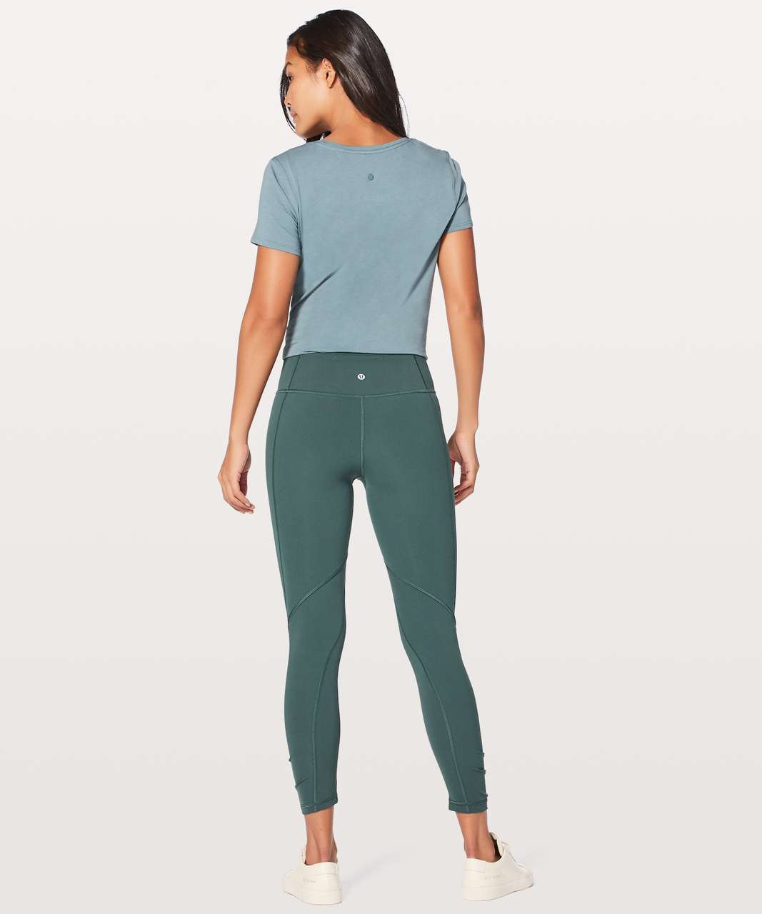 "Lululemon Play Off The Pleats Tight *25"" - Teal Shadow"