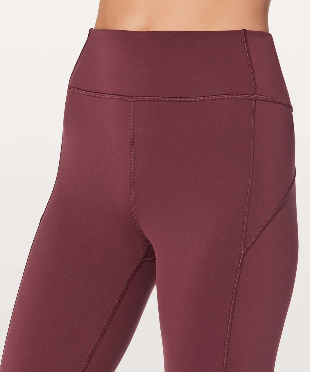 "Lululemon In Movement 7/8 Tight *Everlux 25"" - Redwood"