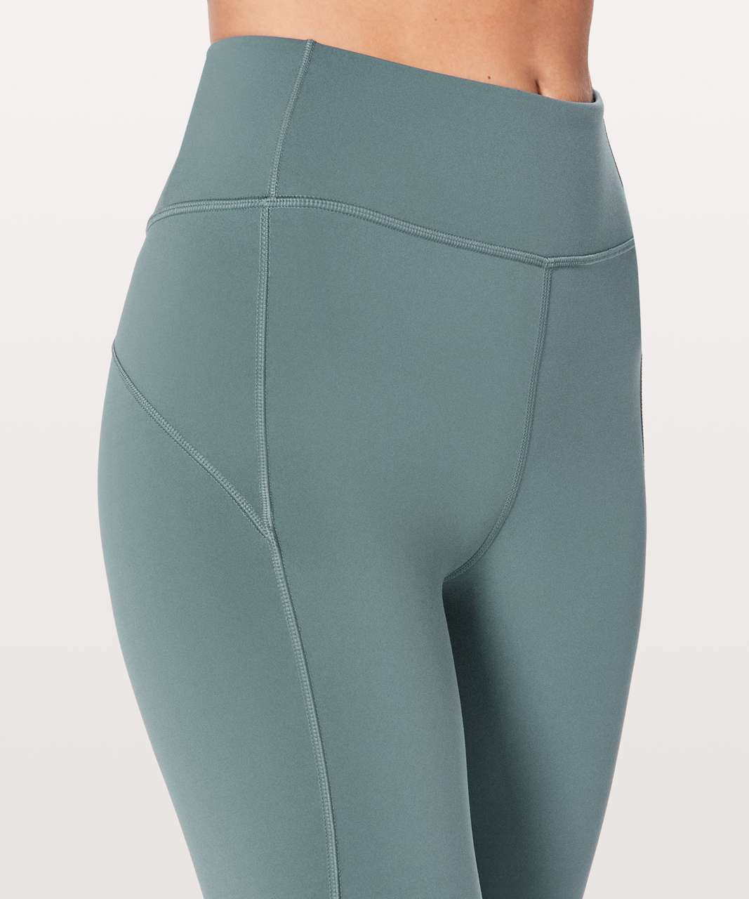 "Lululemon In Movement 7/8 Tight *Everlux 25"" - Mystic Green"