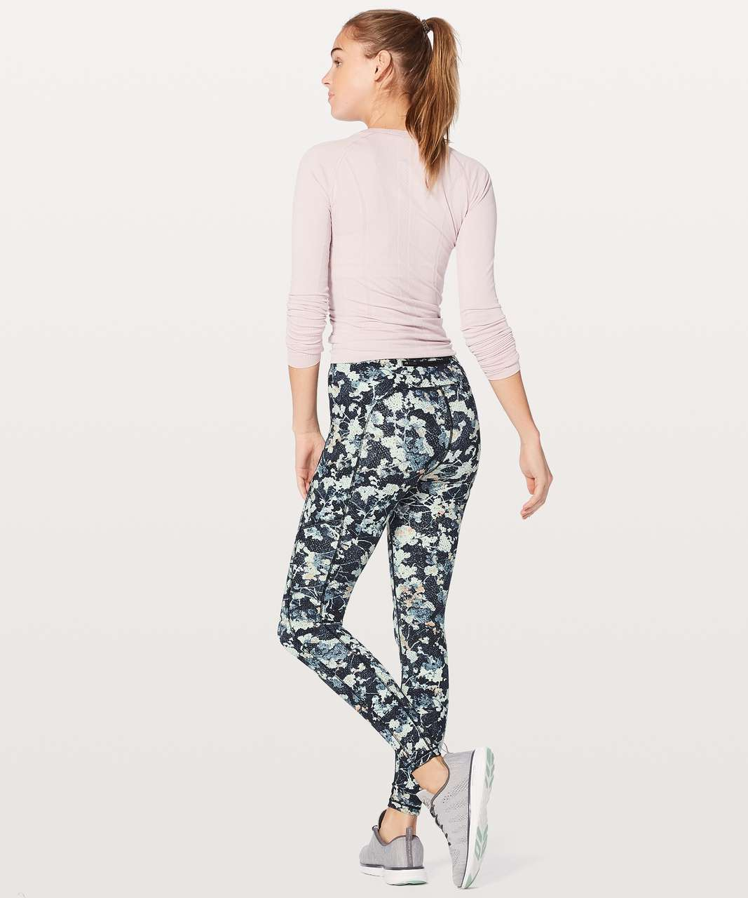 "Lululemon Speed Up Tight *Full-On Luxtreme 28"" - Spring Bloom Multi"
