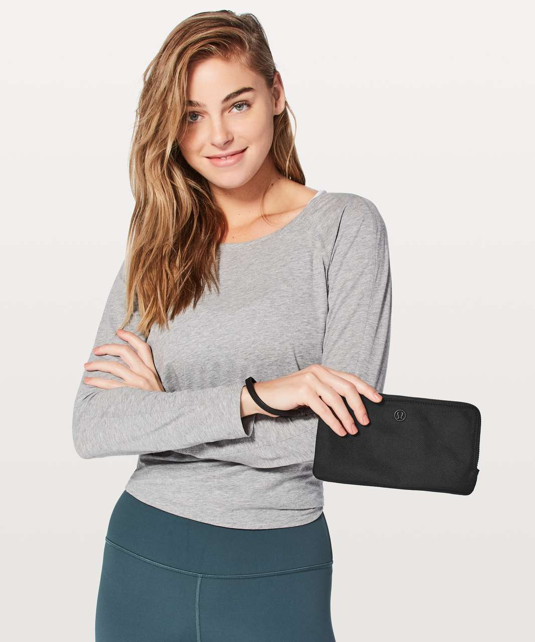 Lululemon Double Up Pouch - Black (First Release)